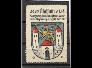 Y16690/ Reklamemarke MASSOW Wappen Kaffee Hag