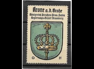 Y16699+/ Reklamemarke Krone Posen Wappen Kaffee Hag