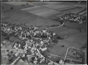 ZZ-0965/ Groß Hilligsfeld b. Hameln Foto seltenes Luftbild 1939 18 x 13 cm