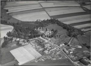 ZZ-0966/ Hasperde b. Bad Münder Foto seltenes Luftbild 1939 18 x 13 cm