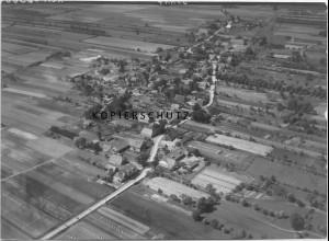 ZZ-0967/ Hittbergen bei Hohnstorf Foto seltenes Luftbild 1938 18 x 13 cm