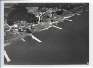 ZZ-0968/ Glienitz bei Neu-Darchau Foto seltenes Luftbild 1938 18 x 13 cm
