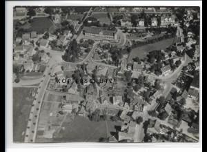 ZZ-0970/ Hahnenklee Harz Foto seltenes Luftbild 1939 18 x 13 cm