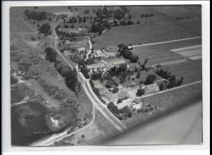 ZZ-0972/ Prievelack Amt Neuhaus Foto seltenes Luftbild 1938 18 x 13 cm