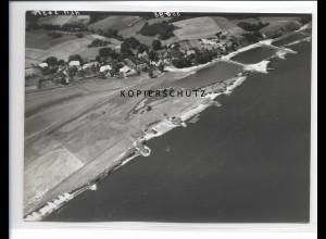 ZZ-0973/ Prievelack Amt Neuhaus Foto seltenes Luftbild 1938 18 x 13 cm