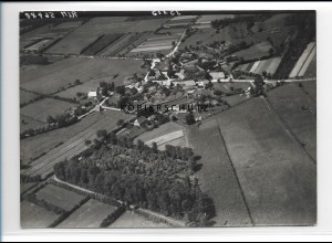 ZZ-0976/ Karze b. Bleckede Foto seltenes Luftbild 1938 18 x 13 cm