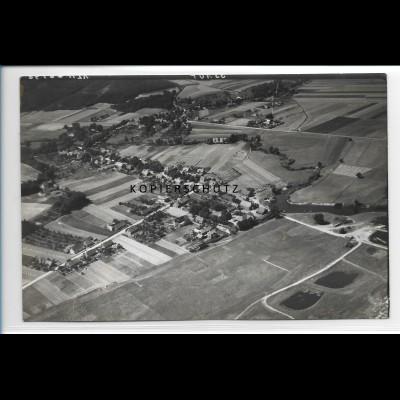 ZZ-1757/ Katemin bei Neu-Darchau Foto seltenes Luftbild 1938 18 x 12 cm
