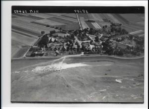 ZZ-0977/ Neu-Garge Foto seltenes Luftbild 1938 18 x 13 cm