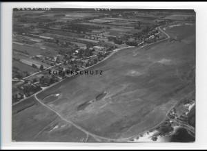 ZZ-0979/ Tespe Foto seltenes Luftbild 1938 18 x 13 cm