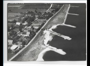 ZZ-0982/ Tespe Foto seltenes Luftbild 1938 18 x 13 cm