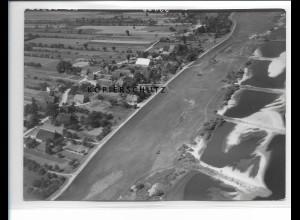 ZZ-0983/ Avendorf-Tespe Foto seltenes Luftbild 1938 18 x 13 cm