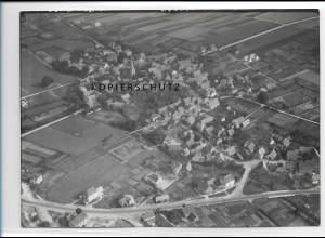 ZZ-0984/ Groß-Berkel bei Aerzen Foto seltenes Luftbild 1938 18 x 13 cm