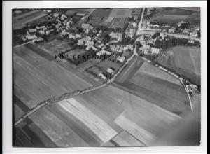 ZZ-0985/ Rehren Foto seltenes Luftbild 1939 18 x 13 cm