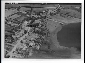 ZZ-0986/ Mustin Mecklenburg Foto seltenes Luftbild 1939 18 x 13 cm