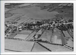 ZZ-0987/ Mustin Mecklenburg Foto seltenes Luftbild 1939 18 x 13 cm