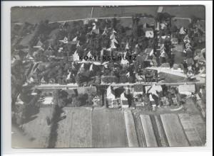 ZZ-0997/ Boldixum auf Föhr Foto seltenes Luftbild 1939 18 x 13 cm