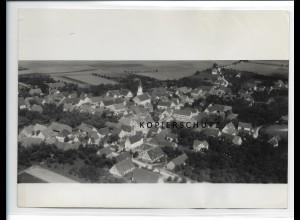 ZZ-1004/ Tommerdingen b. Dornstadt Foto seltenes Luftbild 1936 18 x 13 cm