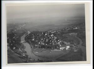 ZZ-1005/ Munderkingen Foto seltenes Luftbild ca. 1936 18 x 13 cm