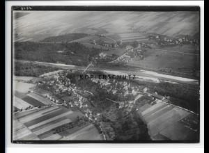 ZZ-1007/ Oberkirchberg b. Illerkirchberg Foto seltenes Luftbild 1935 18 x 13 cm