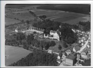 ZZ-1009/ Warthausen b. Biberach Foto seltenes Luftbild ca.1938 18 x 13 cm