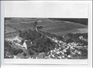 ZZ-1010/ Warthausen b. Biberach Foto seltenes Luftbild 1937 18 x 13 cm