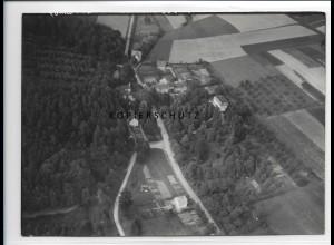 ZZ-1014/ Friedenstal bei Herford Foto seltenes Luftbild 1939 18 x 13 cm