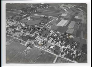 ZZ-1019/ Oldsum-Klintum auf Föhr Foto seltenes Luftbild 1939 18 x 13 cm