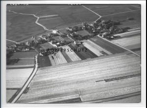ZZ-1024/ Midlum auf Föhr Foto seltenes Luftbild 1939 18 x 13 cm