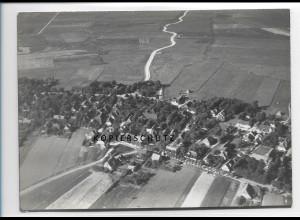 ZZ-1025/ Oevenum auf Föhr Foto seltenes Luftbild 1939 18 x 13 cm