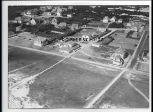 ZZ-1030/ St. Peter-Ording Foto seltenes Luftbild 1939 18 x 13 cm