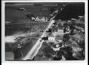 ZZ-1032/ St. Peter-Ording Foto seltenes Luftbild 1939 18 x 13 cm