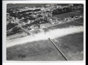 ZZ-1034/ St. Peter-Ording Foto seltenes Luftbild 1939 18 x 13 cm