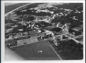 ZZ-1037/ St. Peter-Ording Foto seltenes Luftbild 1939 18 x 13 cm