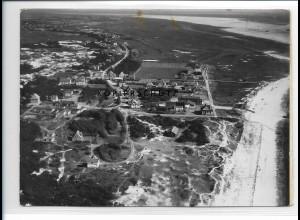 ZZ-1038/ St. Peter-Ording Foto seltenes Luftbild 1939 18 x 13 cm