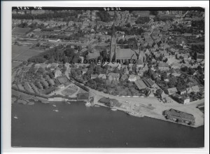 ZZ-1055/ Schleswig Foto seltenes Luftbild 1939 18 x 13 cm