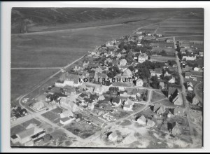 ZZ-1058/ Norddorf auf Amrum Foto seltenes Luftbild 1939 18 x 13 cm