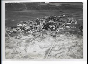 ZZ-1060/ Norddorf auf Amrum Foto seltenes Luftbild 1939 18 x 13 cm