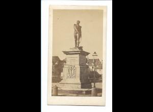 S2166/ CDV Foto Comar Elsaß Denkmal General Rapp ca.1865 ca.10,5 x 6,5 cm