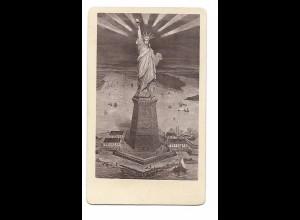 S2385/ CDV Foto 100. Jahrestag der amerikanischen Unabhängigkeit 1776-1876