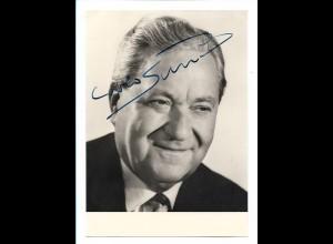 S2403/ Prof. Dr. Carlo Schmid Original Autogramm 1968 Bundesminister SPD