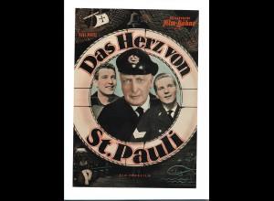 C3384/ IFB 4077 Filmprogramm Das Herz von St. Pauli hans Albers