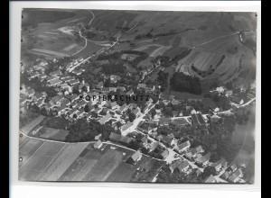 ZZ-1260/ Buch Landkreis Neu-Ulm Foto seltenes Luftbild 1936 18 x 13 cm