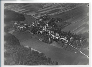 ZZ-1261/ Ritzisried bei Buch Foto seltenes Luftbild ca.1938 18 x 13 cm