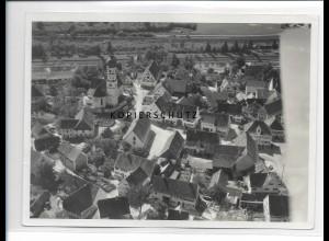 ZZ-1263/ Kellmünz Foto seltenes Luftbild 1936 18 x 13 cm