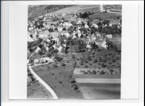ZZ-1264/ Kellmünz Foto seltenes Luftbild 1936 18 x 13 cm