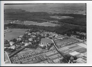 ZZ-1265/ Günzburg Foto seltenes Luftbild ca.1938 18 x 13 cm