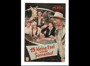 C3385/ IFB 4525 Filmprogramm 13 kleine Esel und der Sonnenhof, Hans Albers