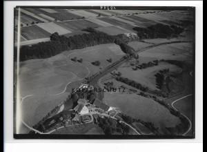 ZZ-1269/ Waldstetten bei Günzburg Foto seltenes Luftbild ca.1938 18 x 13 cm