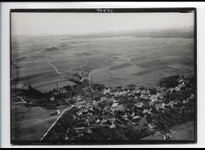 ZZ-1270/ Waldstetten bei Günzburg Foto seltenes Luftbild ca.1938 18 x 13 cm
