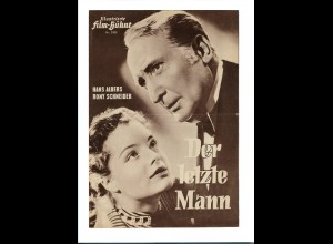 C3386/ IFB 2980 Filmprogramm Der letzte Mann Hans Albers, Romy Schneider